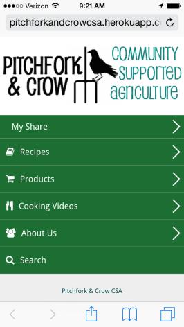 P&C CSA App